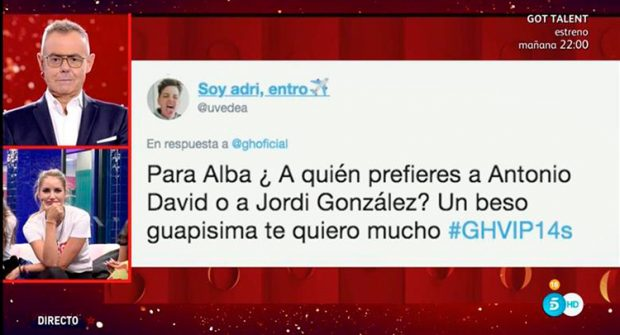 Alba Carrillo, Jordi González