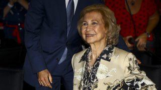 Doña Sofía durante el acto en Valencia / Gtres