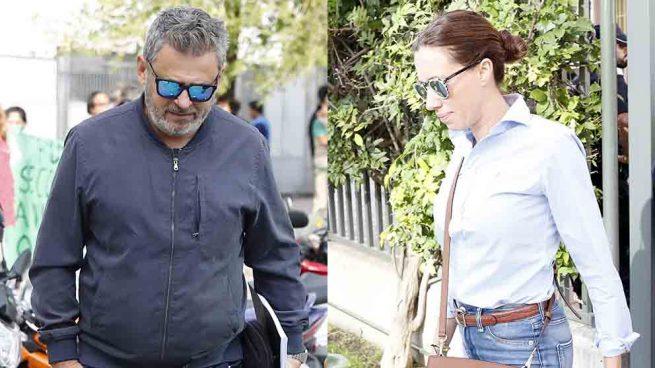 Miki Nadal y Carola Escámez a su llegada a los juzgados / GTRES
