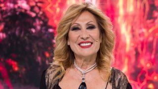 Rosa Benito en un plató de televisión / Gtres