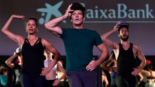Antonio Banderas en la presentación de 'A Chorus Line' / Gtres