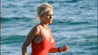 Pamela Anderson en 'Los vigilantes de la playa' / Gtres