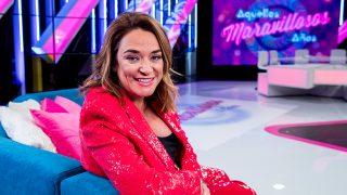 Toñi Moreno está de lo más feliz con 'Aquellos maravillosos años' / Gtres