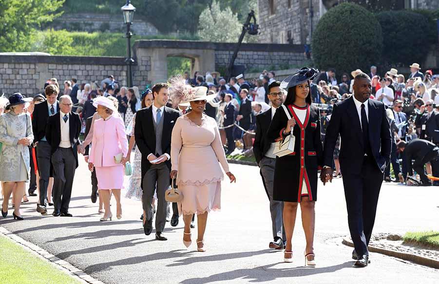 Oprah  Winfrey en la boda del Príncipe Harry y Meghan Markle / GTRES