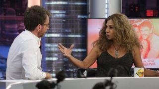 La cantante y actriz Lolita respondiendo a una pregunta en 'El Hormiguero'. / Atresmedia