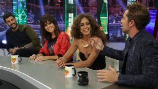 Los coaches de 'La Voz Kids' sonriendo en 'El Hormiguero'. / Atresmedia