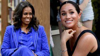 Michelle Obama alaba a Meghan Markle: «es una inspiración»./ Gtres