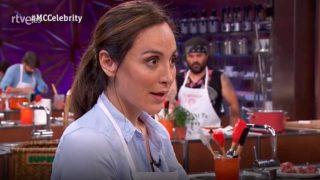 Tamara Falcó en una prueba de 'MasterChef Celebrity'. / RTVE