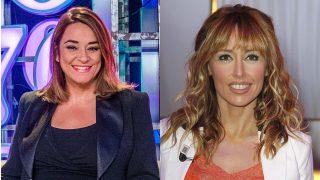 Así ha sido el reencuentro entre Emma García y Toñi Moreno./ Gtres