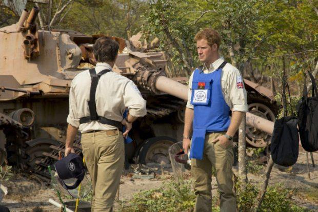 Harry en su primer viaje a Angola / Gtres
