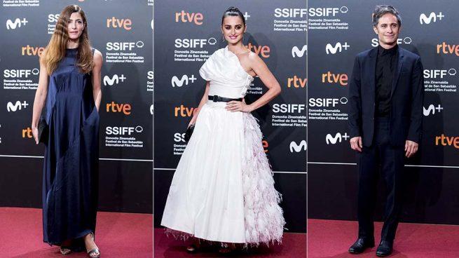 Así ha sido la alfombra roja del Festival de cine de San Sebastián