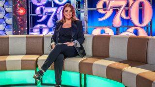 Toñi Moreno en un plató de televisión / Gtres