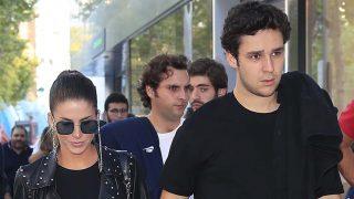 Froilán y su novia, Mar Torres, acuden juntos a ver el Real Madrid./ Gtres
