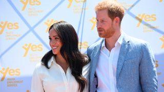 Meghan Markle y el príncipe Harry en Johannesburgo / Gtres