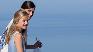 La reina Letizia junto a su hija, la princesa Leonor /Gtres