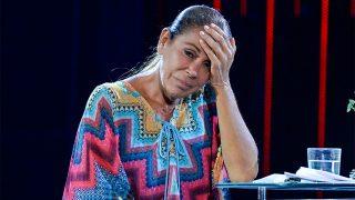 Isabel Pantoja en un plató de televisión / Gtres