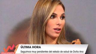 Irene Rosales en 'Viva la vida' este domingo / Telecinco