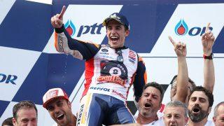Marc Márquez ha vuelto a convertirse en campeón del mundo / Gtres