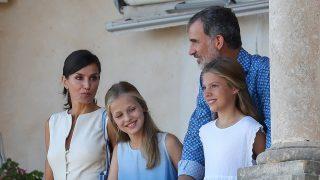 Los Reyes han disfrutando de un plan familiar junto a sus hijas / Gtres