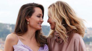 GALERÍA:  Angelina Jolie y Michelle Pfeiffer, dos estrellas en la promoción de 'Maléfica'. / Gtres