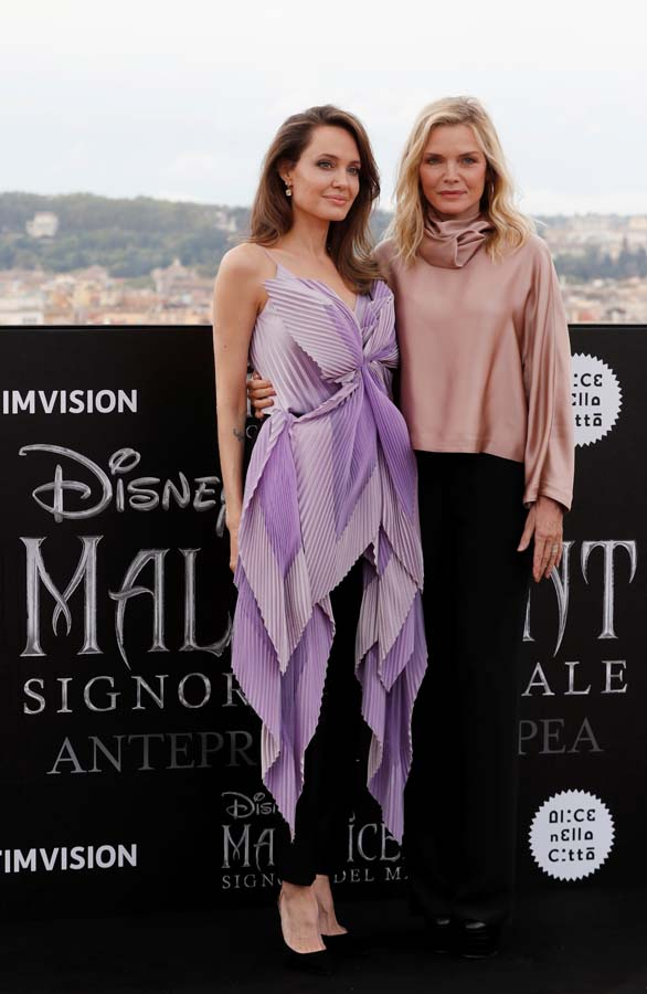 Angelina Jolie y Michelle Pfeiffer