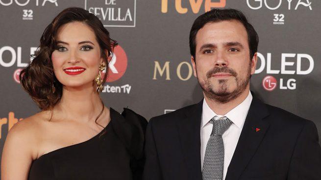 Alberto Garzón y su mujer Anna Ruiz