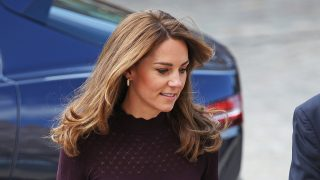 Kate Middleton durante un acto en Londres / Gtres