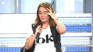 Toñi Moreno, llena de lágrimas, en 'Mujeres y hombres y viceversa' / Cuatro