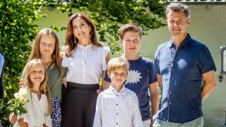 Los príncipes daneses y sus hijos / Gtres