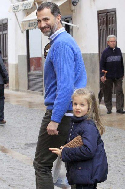 Rey Felipe y Leonor de Borbón
