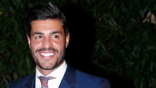 Miguel Torres ha llamado la atención en la fiesta aniversario de Tacha Beauty gracias a su look / GTRES