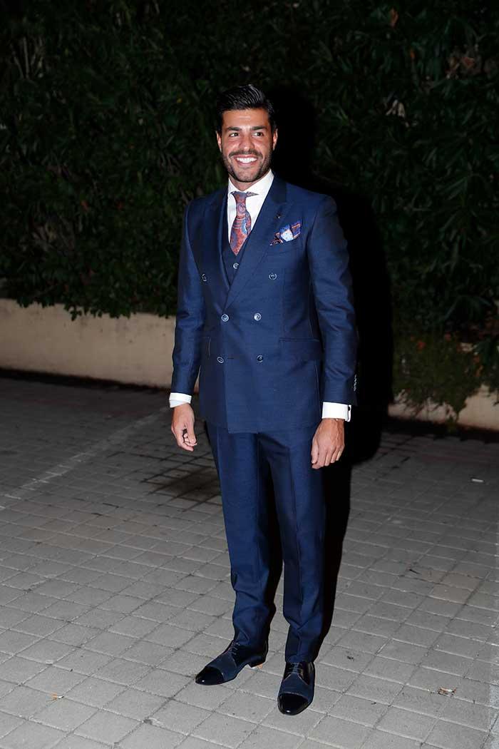 Miguel Torres con traje de chaqueta de Felix Ramiro / Gtres