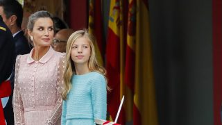 Doña Letizia y la infanta Sofía / Gtres