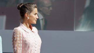 Doña Letizia durante el desfile / Gtres