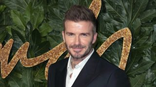 David Beckham en un evento en Londres / Gtres
