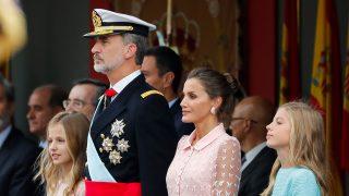Los Reyes Felipe y Letizia, junto a sus hijas, Leonor y Sofía / Gtres