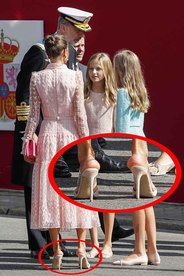 La Reina Letizia durante el pasado 12 de octubre / GTRES