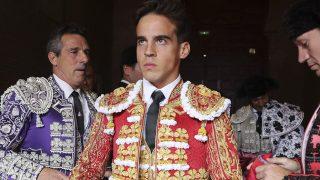 Gonzalo Caballero minutos antes de entrar a Las Ventas el 12 de octubre / Gtres