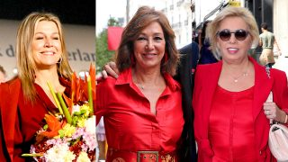 Máxima de Holanda, Ana Rosa Quintana y Carmen Borrego,/ Fotomontaje LOOK