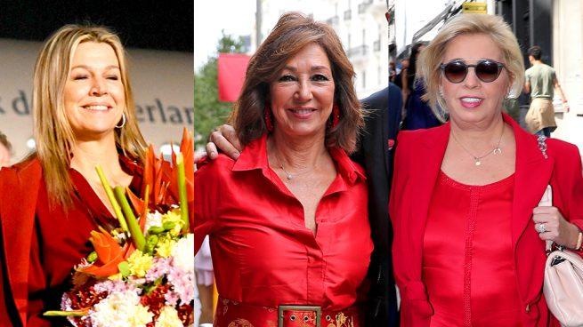 Máxima de Holanda, Ana Rosa Quintana y Carmen Borrego