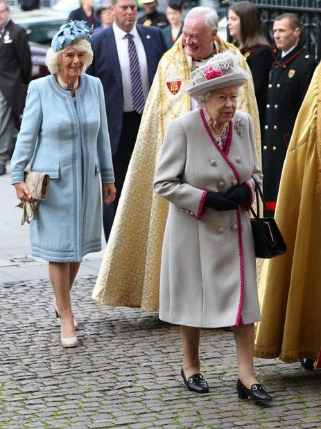 Camilla Parker y la reina Isabel II estuvieron muchos años sin poder verse / Gtres