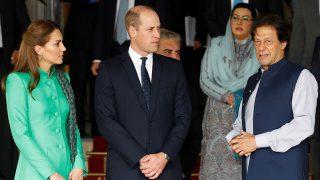 Los duques de Cambridge con Imran Khan / Gtres