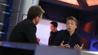 Íñigo Errejón respondiendo a Pablo Motos en 'El Hormiguero'. / Atresmedia