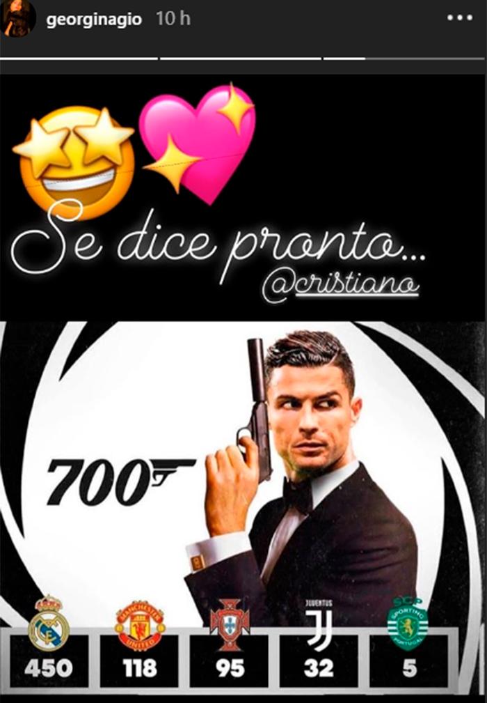 La razón por la que Georgina Rodríguez ha convertido a Cristiano Ronaldo en su James Bond particular