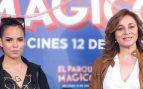 Gloria Camila y Ana María Aldón