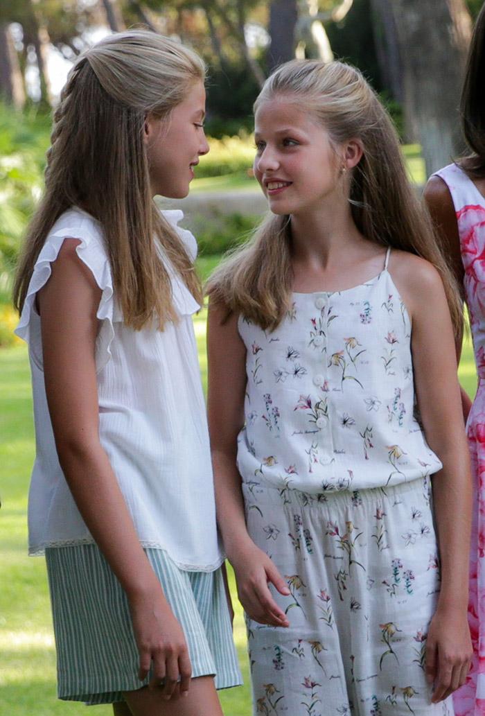 Leonor y Sofía: las hermanas son inseparabales / Gtres