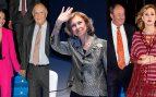 La reina Sofía preside unos premios BMW convertidos en una lluvia de estrellas