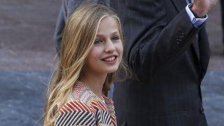 La princesa Leonor en el día previo a los Premios Princesa de Asturias /Gtres