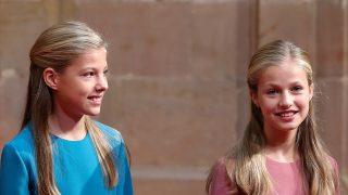La infanta Sofía y la princesa Leonor / Gtres