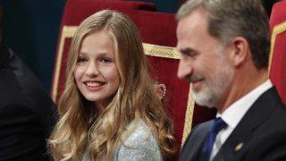 Leonor durante la ceremonia de los Premios Princesa de Asturias /Gtres